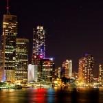 image of Brisbane 'Bris-Vegas' at night