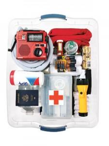 photo of emergency kit