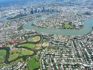 Brisbane inner city